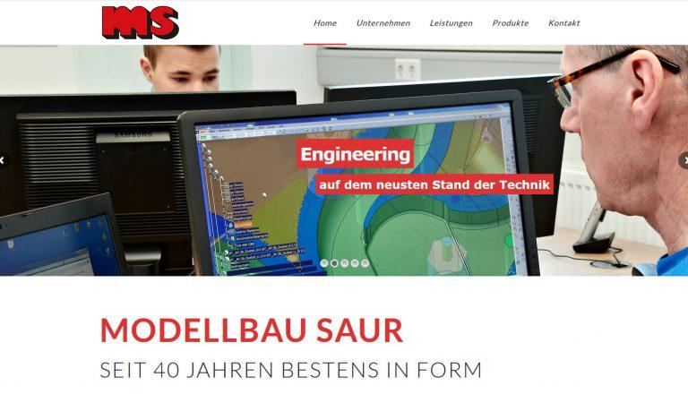 Modellbau Saur Webseite