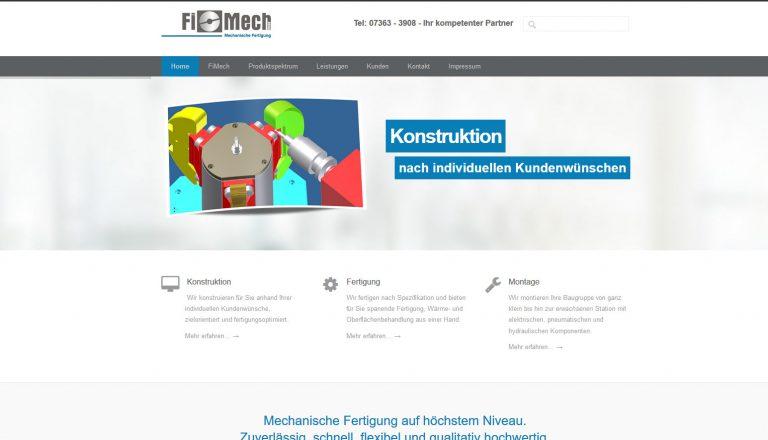 Fimech Webseite
