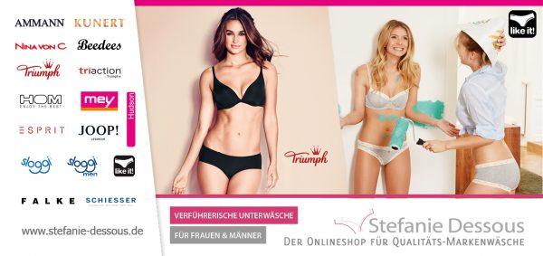 Stefanie Dessous Flyer